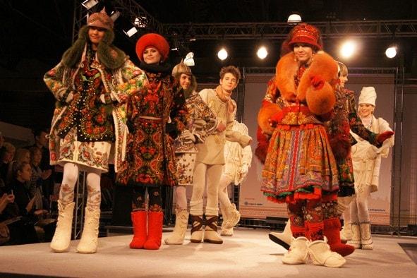 русские стиль одежды - Абсолютно.