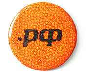 "Badge ∅38mm ""Икра .РФ"" (Caviar .РФ)"