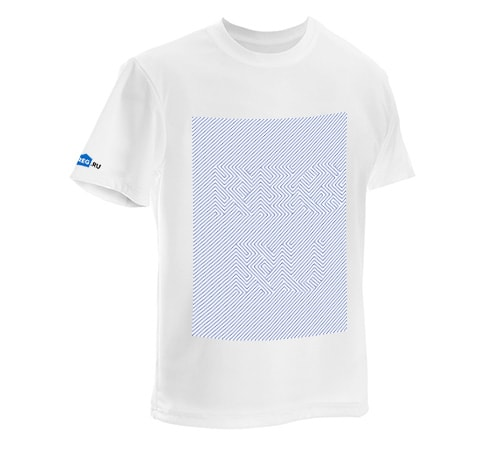 "T-shirt ""Optical illusion"""