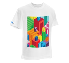 "T-shirt ""Skyscrapers"""