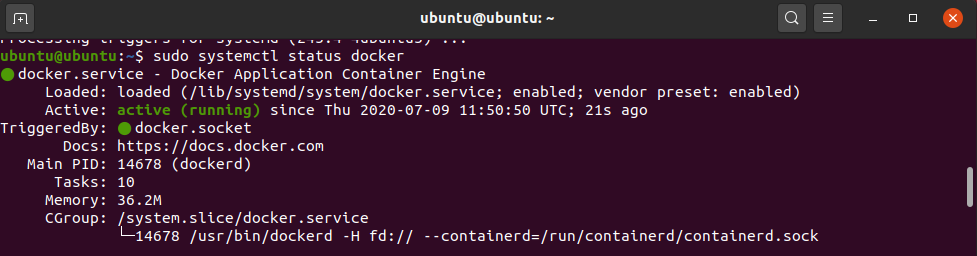 docker install ubuntu