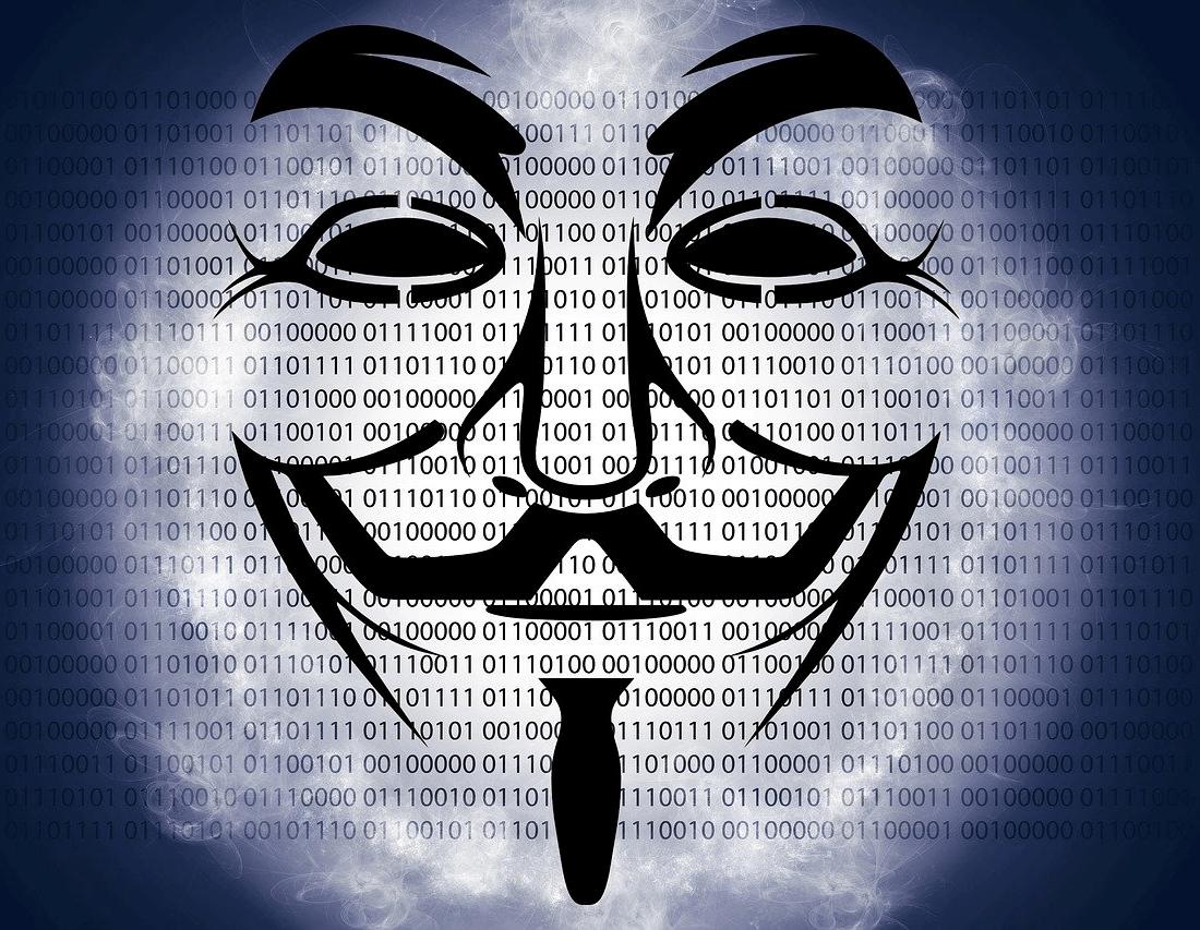 Маска Гая Фокса - атрибут Anonymous