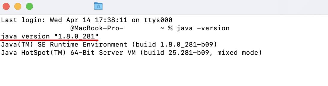 Как проверить версию Java