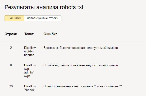 проверка robotstxt 2