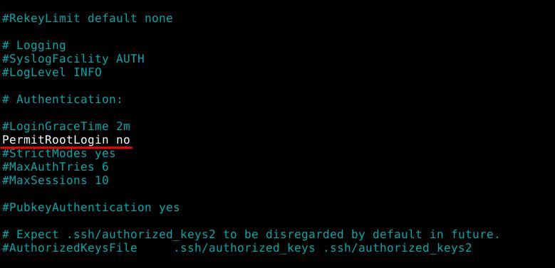 SSH на Debian 3