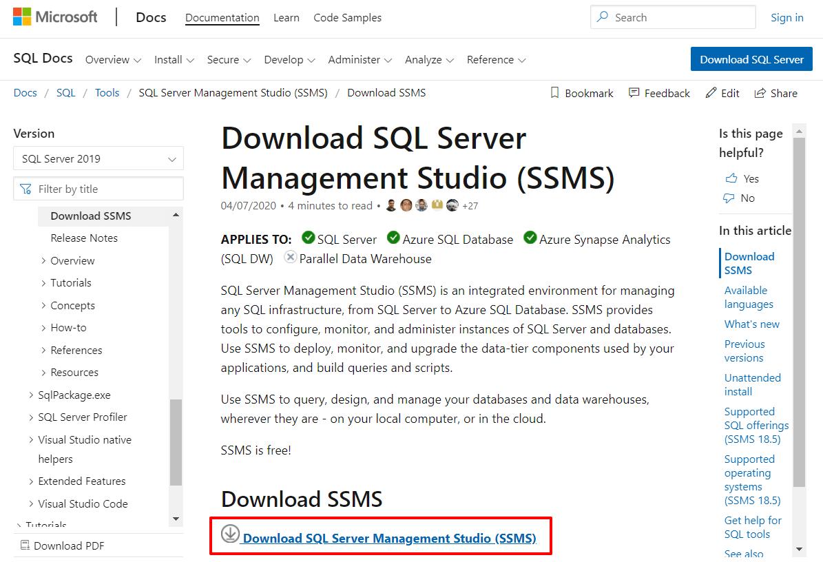 основы работы с mssql 4
