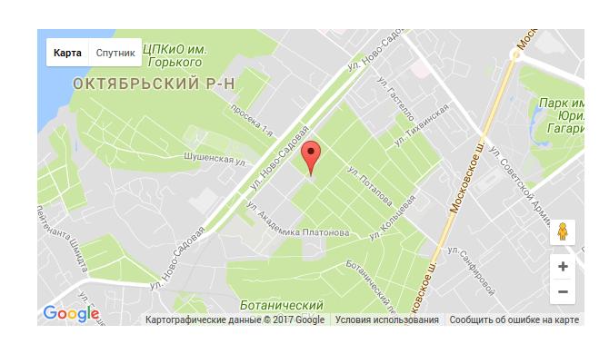 добавить google карты в конструкторе regru 4