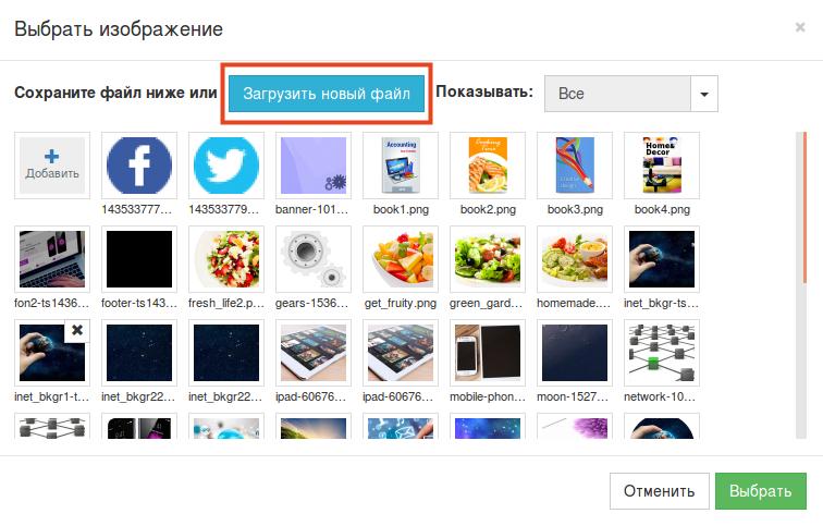 размещение файла на скачивание в конструкторе reg.ru шаг 12