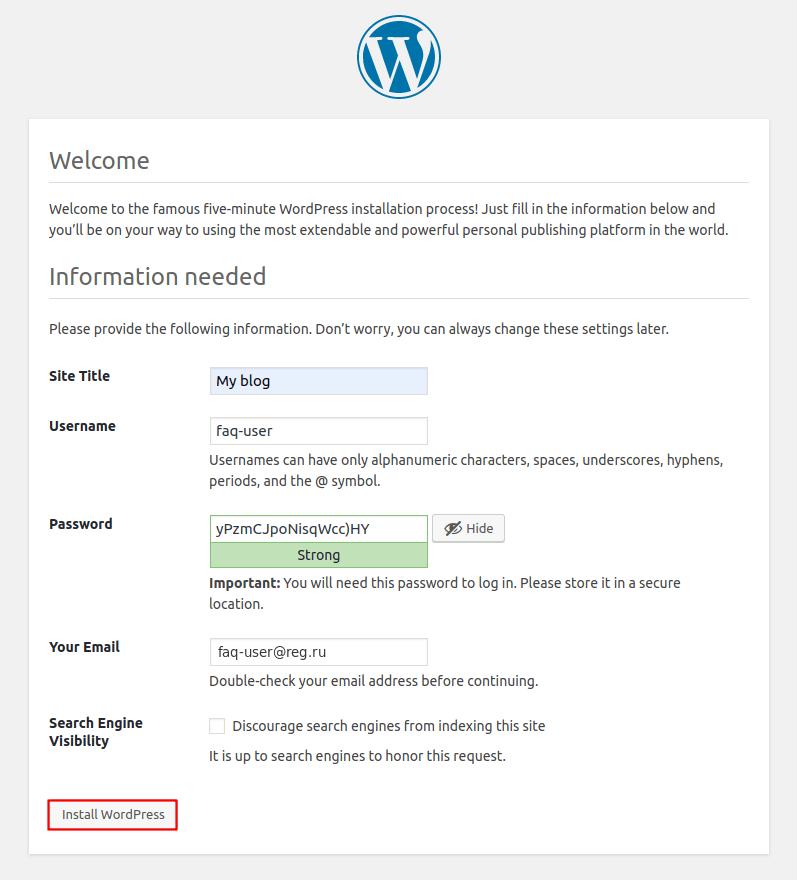 WordPress VPS
