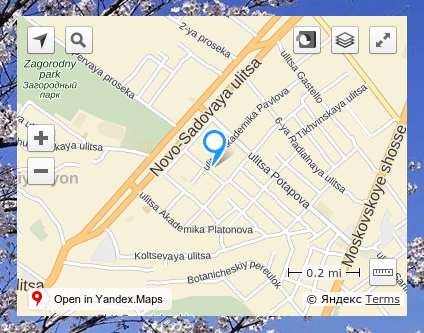 как добавить карту местоположения на сайт в конструкторе regru 6
