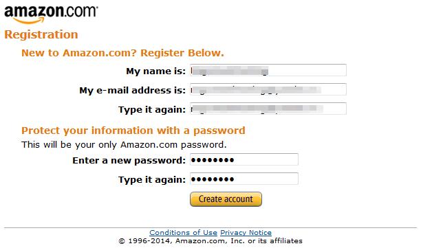 регистрация в системе amazon associates
