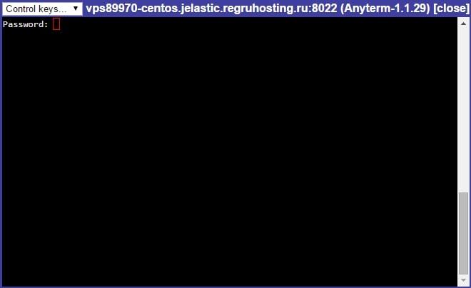 Виртуальный сервер vds на jelastic 5