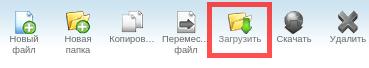загрузить файлы в cpanel