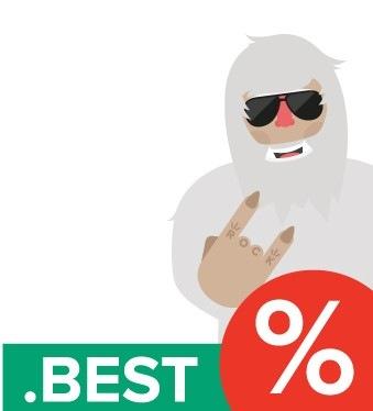 Выбирайте лучшее с доменом .BEST за 299 рублей