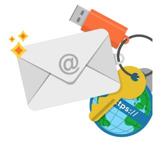 Картинка день рождение электронной почты